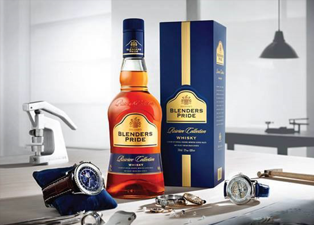 Blenders pride reserve collection whisky brand