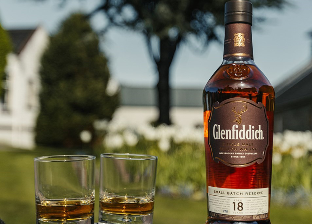 Glenfiddich scotch