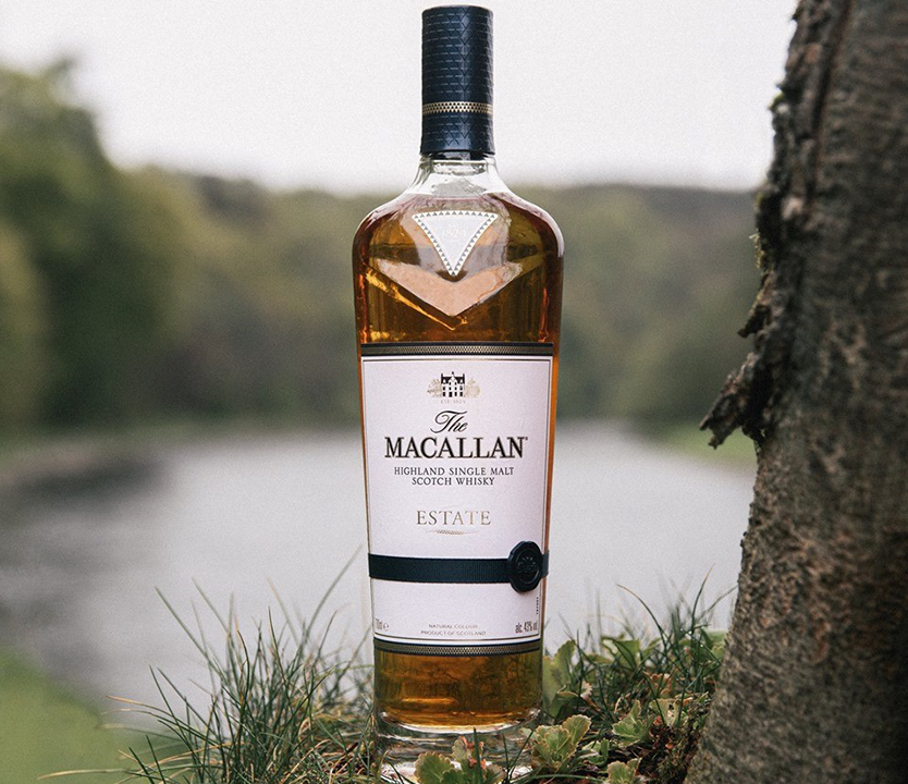 The Macallan highland single malt scotch whisky