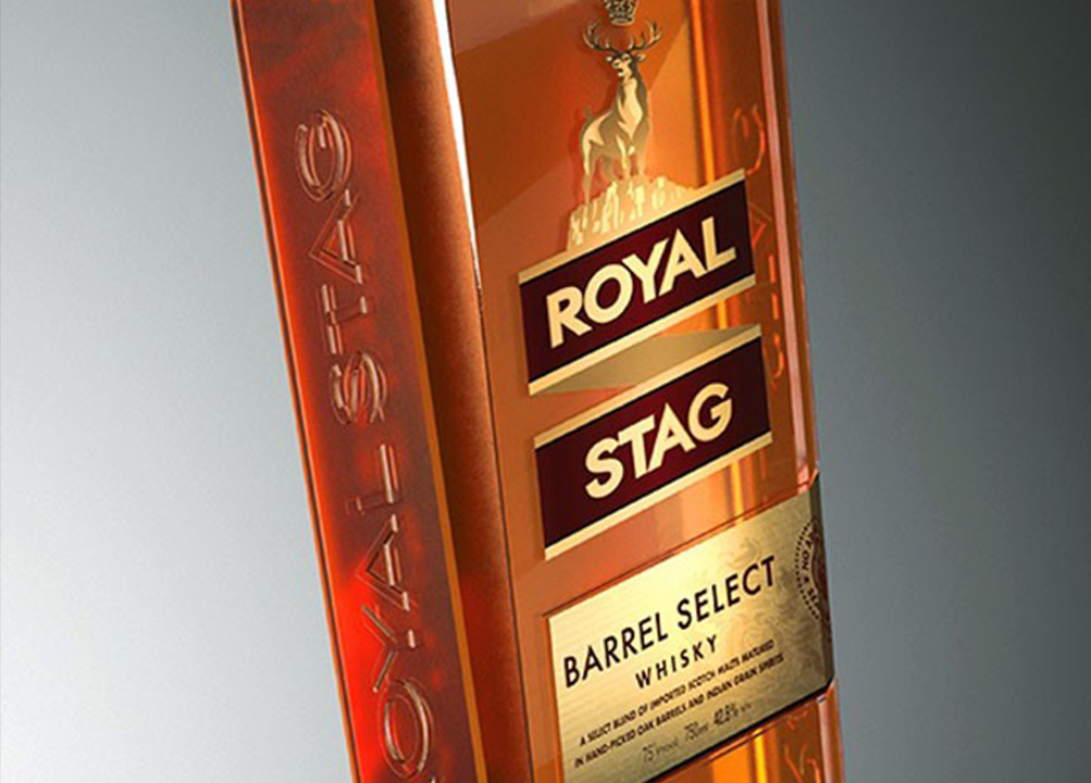 Royal stag barrel select whisky