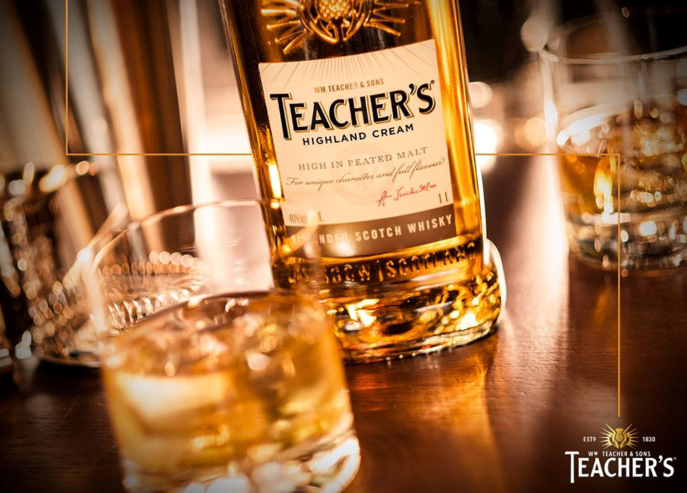 Teacher's whiskey