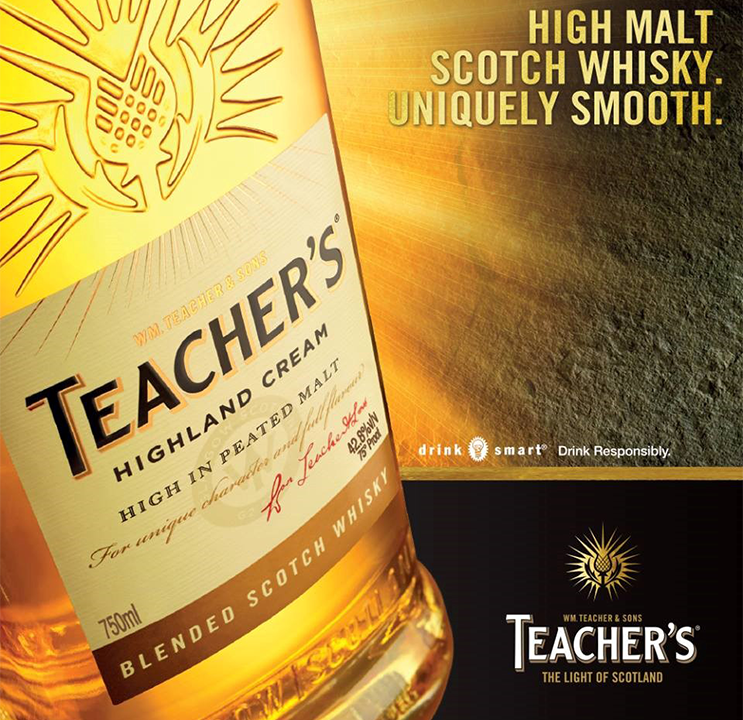 Teacher's highland whisky