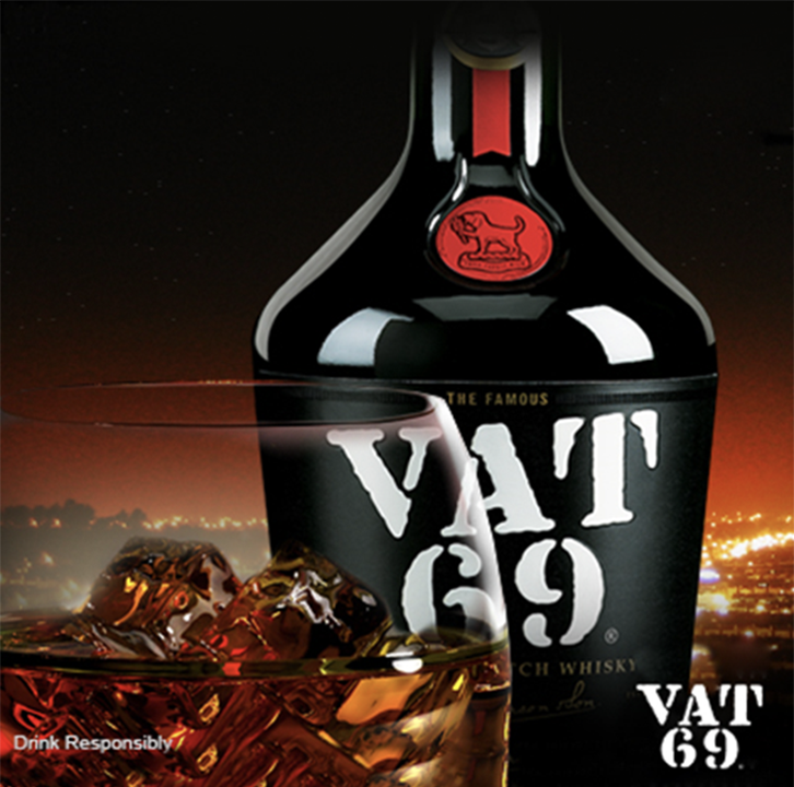 VAT 69 scotch