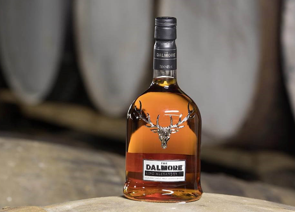 Dalmore malt scotch whisky